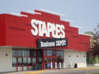 Store front for Staples